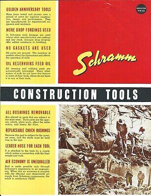 Equipment Brochure - Schramm - Construction Tool Drill Breaker C1958 E5297