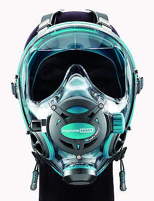 Ocean Reef Diving - Ocean Reef Neptune Space G.divers Full Face Diving Mask Medium/Large Emerald