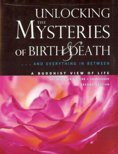 6 CDs UNLOCKING the MYSTERIES of BIRTH & DEATH 1988 - Daisaku Ikeda - Buddhism