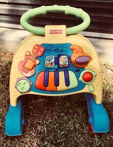 Fisher Price Baby Toddler Musical Walker