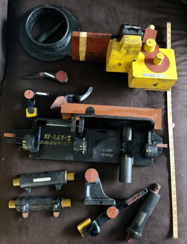 Antique Industrial Foundry Patterns Molds Handmade Wood Lot Cast Casting Metal