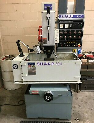Sharp 300 Compact Sinker Edm Machine