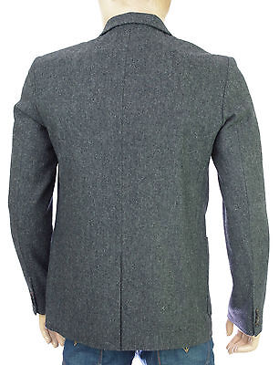 scotch and soda veste blazer slim fit homme 3 button wool. Black Bedroom Furniture Sets. Home Design Ideas