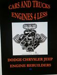 CARS AND TRUCKS ENGINES 4 LESS