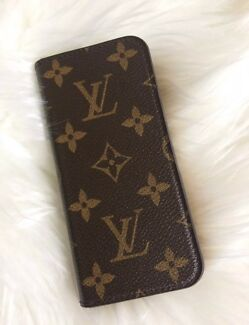 Louis Vuitton Monogram iPhone 6/6s Folio Case Authentic