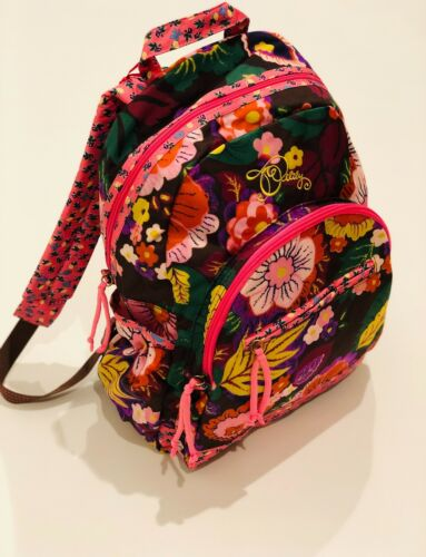 Kids OILILY Pink Multicolored Backpack - Medium Sized