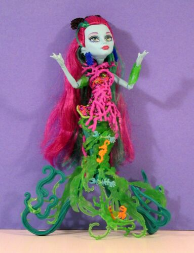 Monster High Doll - GREAT SCARRIER POSEA REEF Down Under Ghouls - Blue Skin 2014