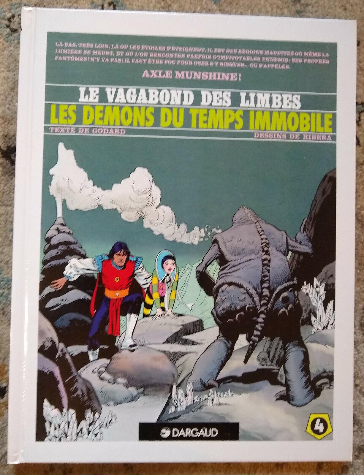 Les Demons Du Temps Immobile Le Vagabond 4 French By Ribera/Godard 1990  - $18.95