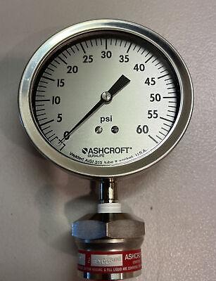 Ashcroft Pressure Gauge 0-60 Psi