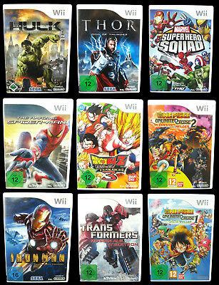 ACTION-Spiele für Nintendo Wii: Harry Potter, One Piece, X-Men, Dragonball Action-spiele Für Wii