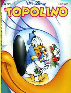 fumetto-TOPOLINO-WALT-DISNEY-numero-2151