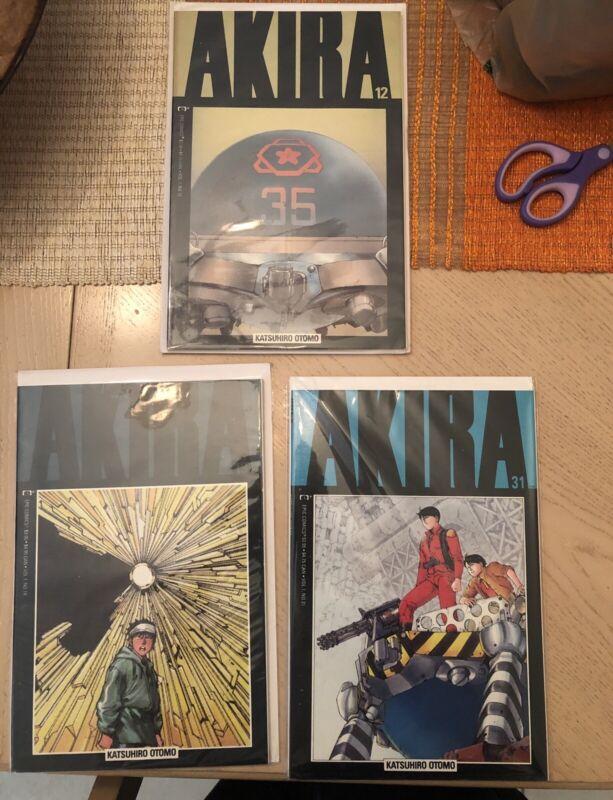 AKIRA Epic Comic Lot Of 5