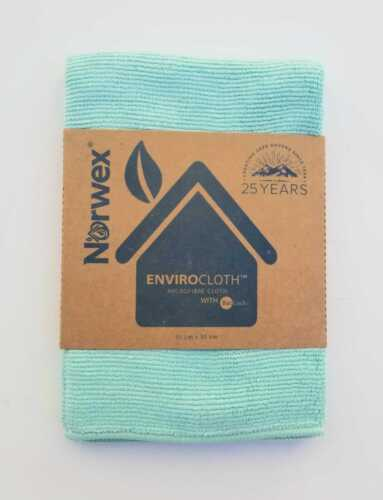 Norwex EnviroCloth, Microfiber Cloth, Green, New