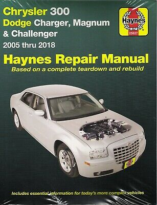 2005-2018 Chrysler 300 Dodge Charger Magnum Challenger Repair Shop Manual 23351