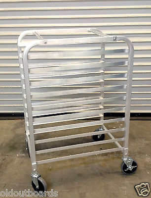 New 10 Sheet Pan Bakery Cart Rack 2052 Full Size Tray 12 Height Nsf Cookie Nsf