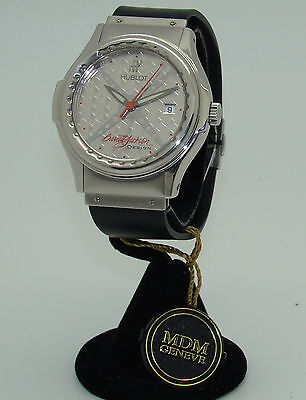HUBLOT BARRETT-JACKSON LIMITED EDITION of 100 AUTOMATIC WATCH NEW W/BOX & PAPERS