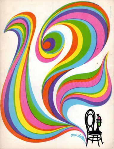 MONTEREY JAZZ FESTIVAL 1969 CONCERT PROGRAM BOOK-MILES DAVIS-THELONIOUS MONK