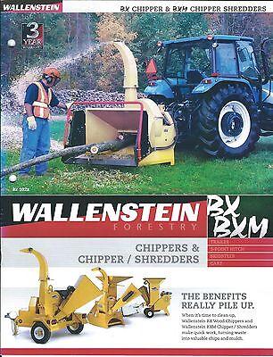Equipment Brochure - Wallenstein - Bx Bxm Et Al - Chipper Shredder E3305