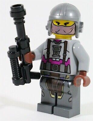 LEGO STAR WARS ZAM WESELL MINIFIGURE BOUNTY HUNTER - MADE OF GENUINE LEGO PARTS