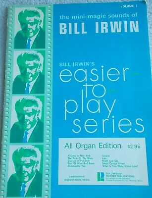 All Organ Song Book Pop Improvisation Series AD LIB MAGIC by Bill Irwin Vol.2