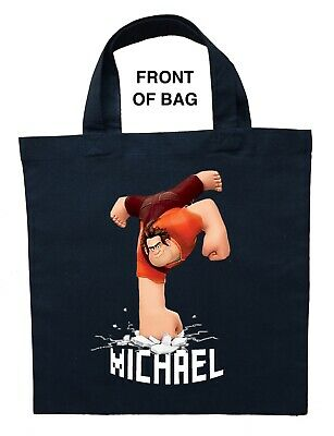 Wreck It Ralph Halloween (Wreck It Ralph Trick or Treat Bag, Personalized Wreck It Ralph Halloween)