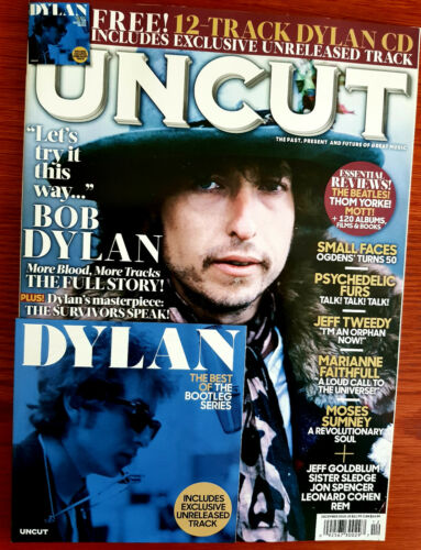 Bob Dylan Uncut Magazine (December, 2018) Bob Dylan Cover Single Issue
