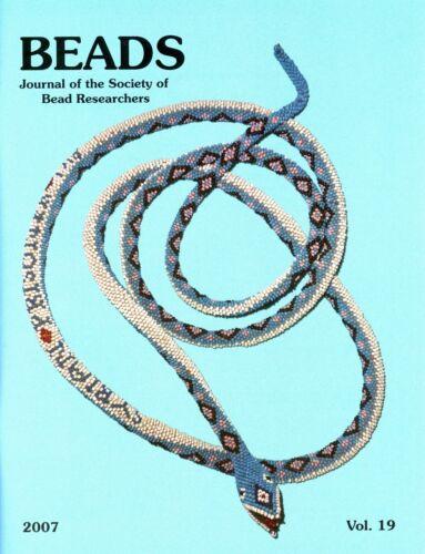 BEADS 19: Turkish POW Beadwork, Slave Beads, Korea, Ancient India, Archaeometry