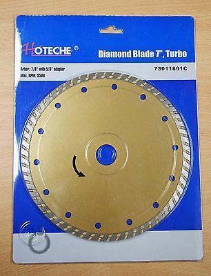 7 Diamond Blade Turbo Drywet