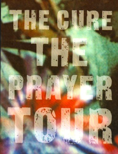 THE CURE 1989 THE PRAYER 20-DATE US TOUR CONCERT PROGRAM BOOK BOOKLET / NM 2 MNT