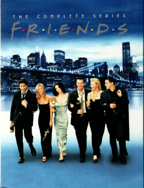 Friends  The Complete Series Brand New 32 DVD Gift Box Set Free Shipping USA