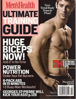 NEW! Men's Health ULTIMATE TRAINING GUIDE 2012 Nutrition Plan 6 Pack Abs in 15mi for sale  Shipping to India