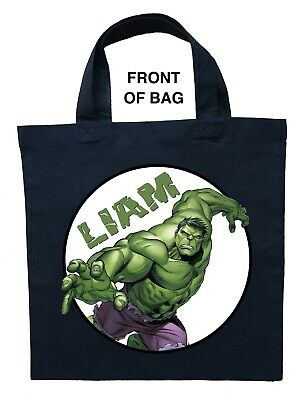 Incredible Hulk Trick or Treat Bag - Personalized Incredible Hulk Halloween Bag](Incredible Hulk Halloween)