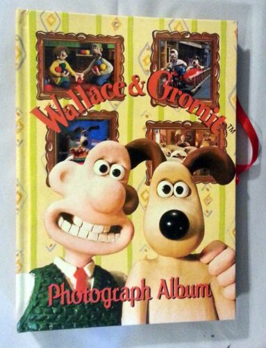 Wallace & Gromit Collectible Photo Photograph Album 1996 Aardman Animations