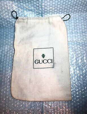 Vintage Used Gucci Dust Bag Belts Accessories Jewelry Authentic