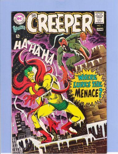 Beware the Creeper #1 in VF minus condition. 1968 DC comics