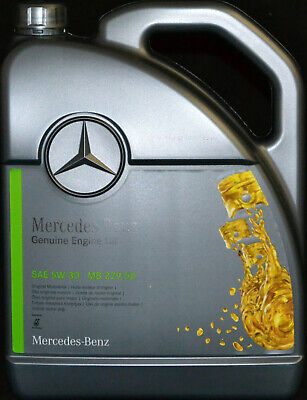 5 Liter ORIGINAL MERCEDES BENZ  5W30 PKW MOTORÖL MB 229.52 Synthetic 5W-30