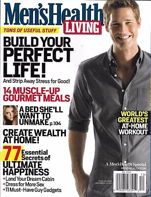 Home Gourmet Food - Men's Health Living magazine Muscle gourmet meals Home wealth Workouts Food