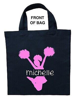 Personalized Halloween Treat Bag (Cheerleader Trick or Treat Bag, Personalized Cheerleader Halloween)
