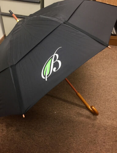 """GustBuster Classic 48"""" Dual Canopy Windproof Umbrella no color choices"""