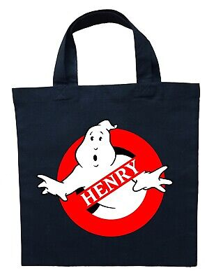 Ghostbusters Trick or Treat Bag, Personalized Ghostbusters Halloween Bag