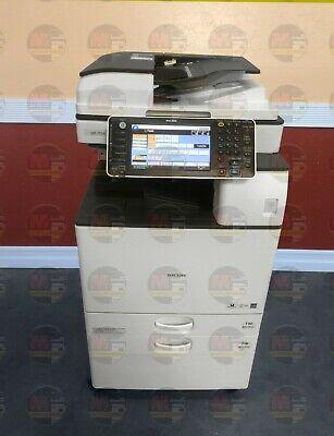 Ricoh Aficio Mp 2554 Mono A3 Laser Multifunction Printer Copier Scanner 25 Ppm