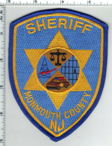 Monmouth County Sheriff (New Jersey) 4th Issue Shoulder patch