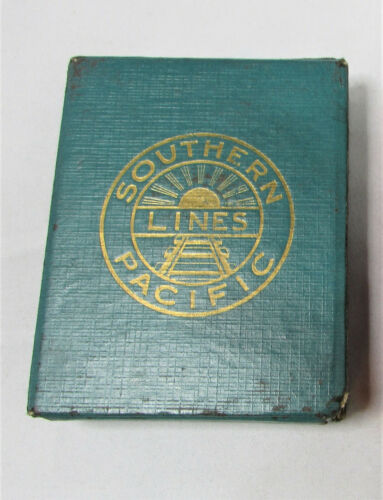 Vintage Southern Pacific Lines Railroad Advertising Playing Card Complete Deck