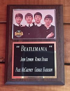 Beatles Plaque