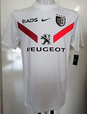 TOULOUSE RUGBY 2012/13 S/S ALTERNATE JERSEY BY NIKE SIZE MEN'S LARGE BRAND NEW Alternate Ss Rugby Jersey