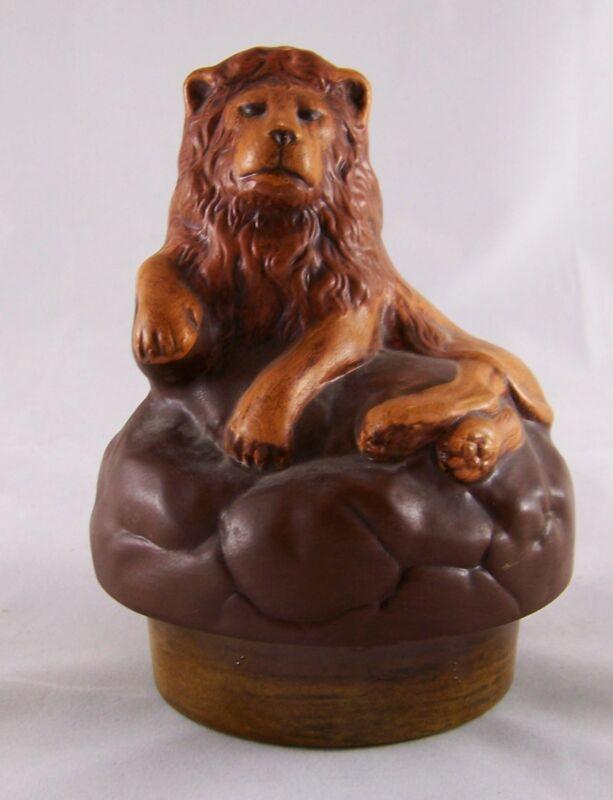 Ceramic Lion Shaped Cookie Jar *Lid Only*