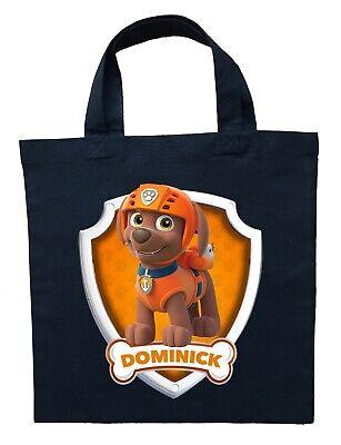 Paw Patrol Zuma Trick or Treat Bag - Personalized Paw Patrol Zuma Halloween Bag