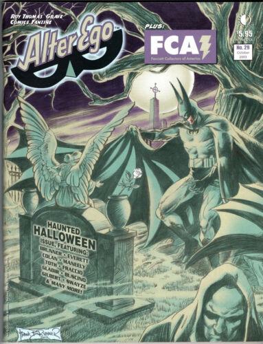 Alter Ego Magazine #29 VF Oct 2003 King Kong Haunted Halloween Batman Fanzine