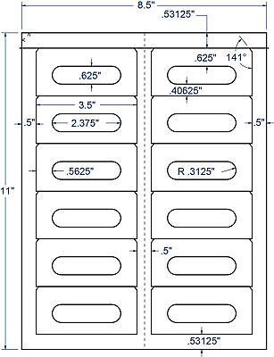 Audio Cassette Tape Labels Inkjet Laserjet Compatible Templates 5198 5998 5068 Audio Cassette Label Template