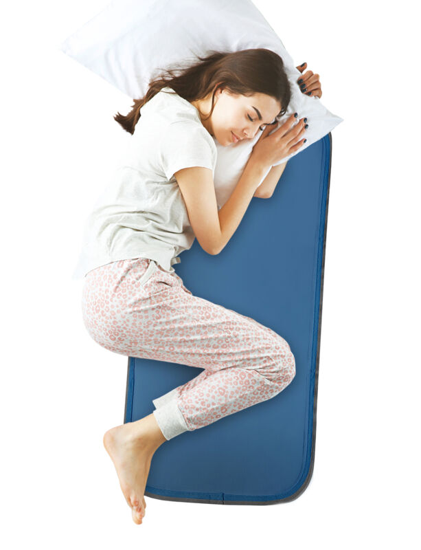 Cooling Pad for Bed by Cool Care Technologies - Place on Bed, No Water Needed